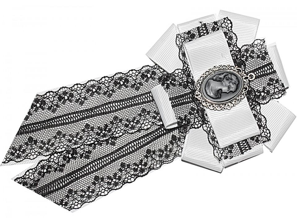 Брошь - галстук  на блузу Arco Carino ОСТАТКИ!!!