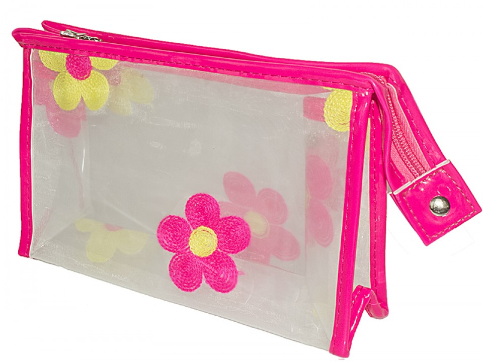 Летняя сумочка-косметичка(прозрачная)